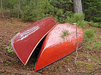 Norm and Denis' Canoes - Algonquin Park Ontario