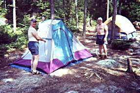 Waterclear Lake Campsite