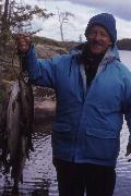 """dumb luck had put them over the lake trout"""