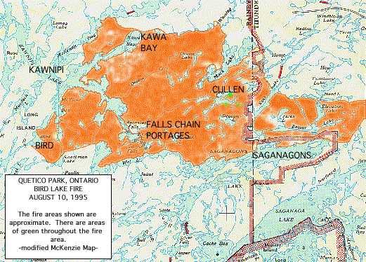 Bwca Fire Map.Canoe Stories Quetico Bwca Wilderness