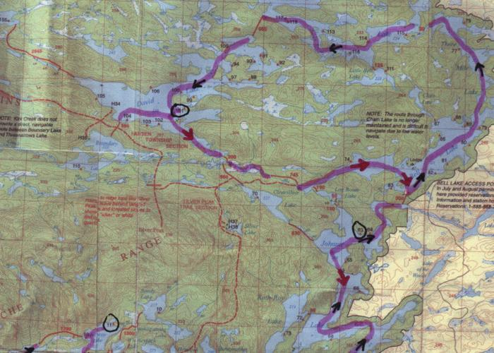 Manitoba's Obukowin Lake - Western Entry to Woodland Caribou